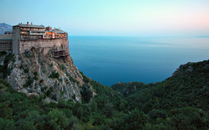Mt Athos (Greece) spiritual locations for travel