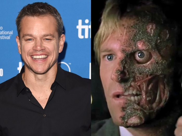 Matt Damon could have played the famous role of Harvey Dent.